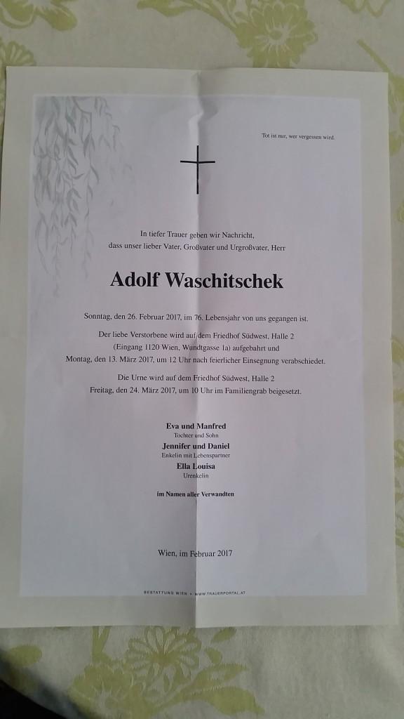 Adolf Waschitschek